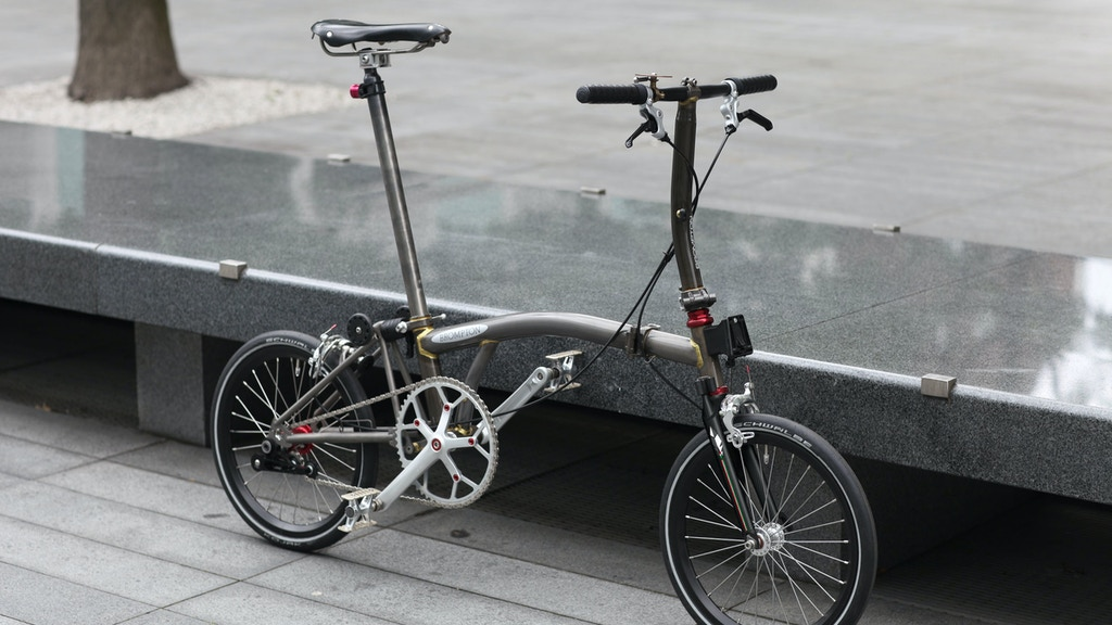 Project image for Piumanera R1 - Carbon fork for Brompton Bicycle
