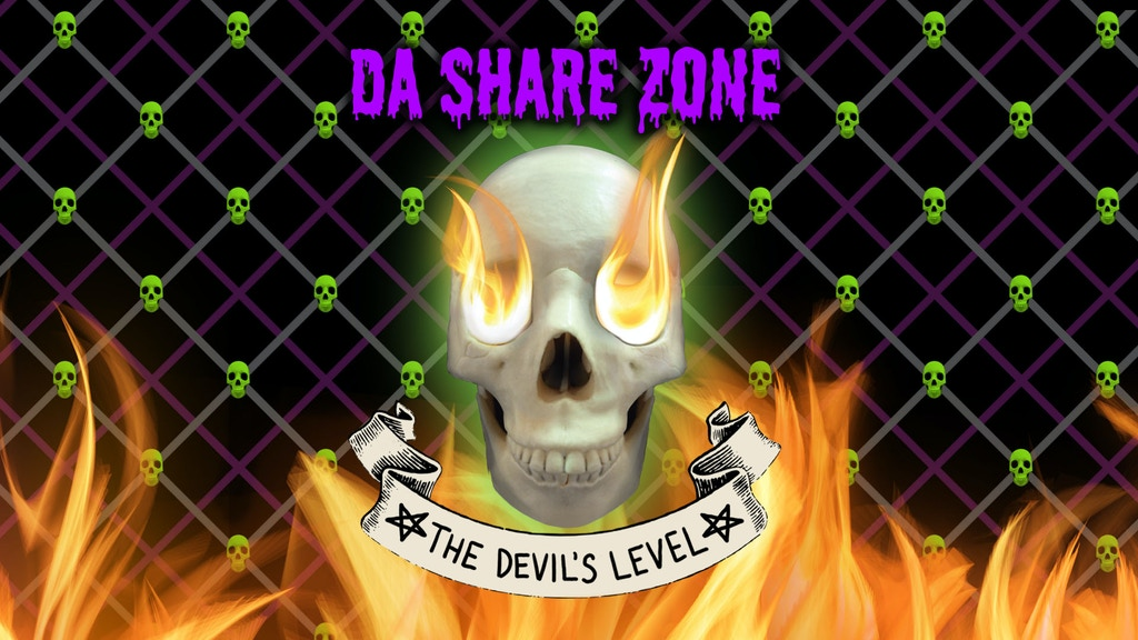 Da Share Z0ne: THE DEVIL'S LEVEL Card Game project video thumbnail