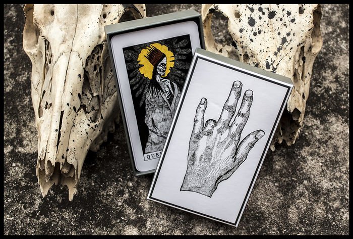 The Tarot Restless is a new interpretation of the classic Rider-Waite tarot deck set in a bizarre fantasy universe.
