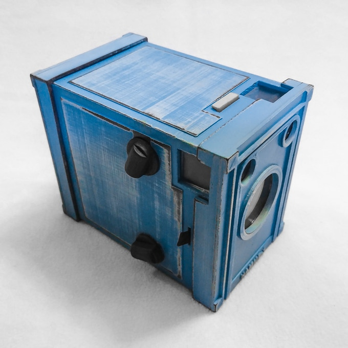 NuBox1 in Worn Blue from the Weathered Series