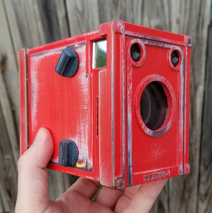 NuBox 1 Weathered Series in Really Red