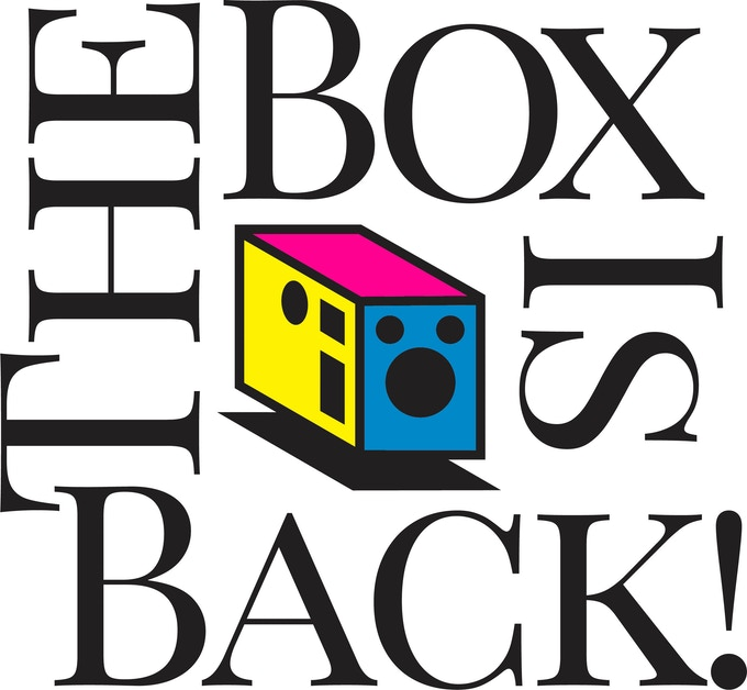 The Box Is Back, Icon and sticker