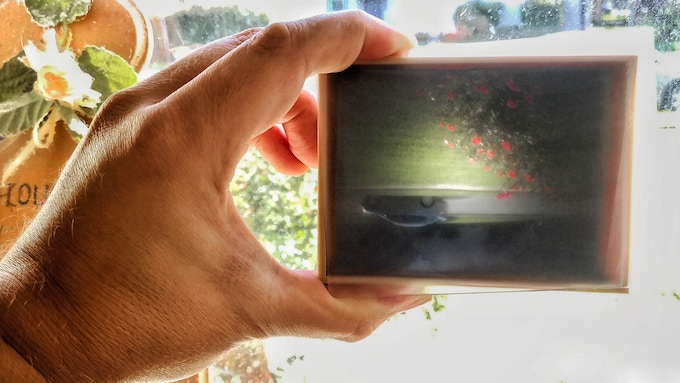 Early ground glass test: PASS!