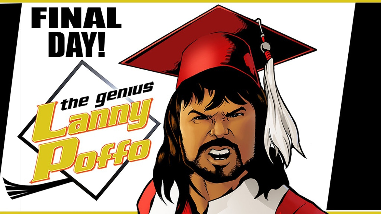 The comic biography of Leaping Lanny Poffo, brother of Macho Man Randy Savage and a wrestling legend in his own right!