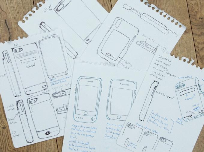 Beginning Sketches