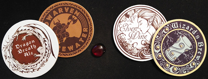 Shown coasters are included in the Collector's Edition.