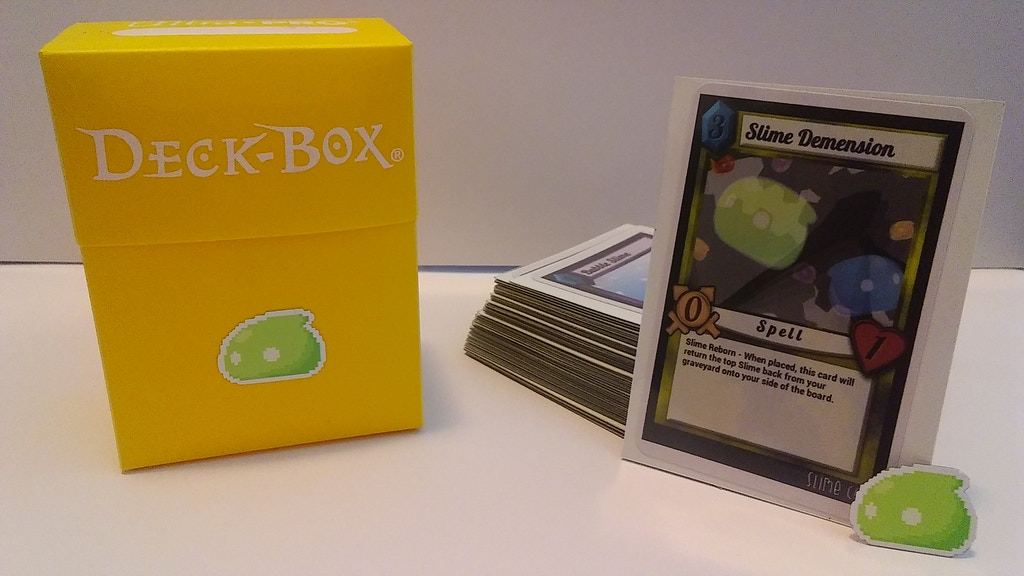 slime trading card game by kody stone kickstarter. Black Bedroom Furniture Sets. Home Design Ideas