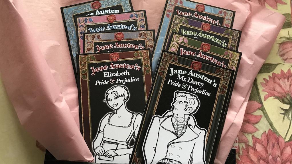 Pride & Prejudice Bookmark Pack