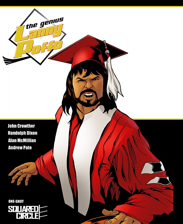 The Standard Edition Cover for The Genius Lanny Poffo! A VERY Limited Number of SIGNED Copies are Available!