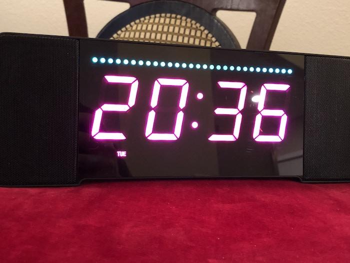 24 hour time and Alexa lights