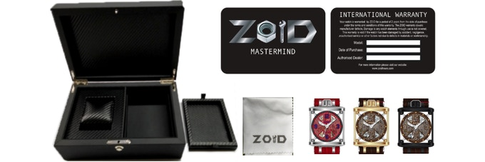 This is how your reward package looks like! Depending on your choice of Mastermind. (MD1, MD2 or MD3)