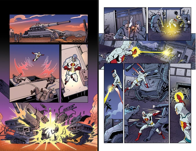Interiors from The Atomic Thunderbolt #2