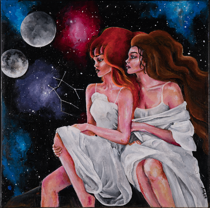 """Gemini Moon"" by Karlee May"