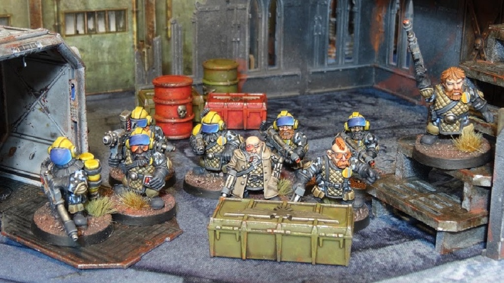 Space Dwarves - 28mm Sci-Fi miniatures project video thumbnail