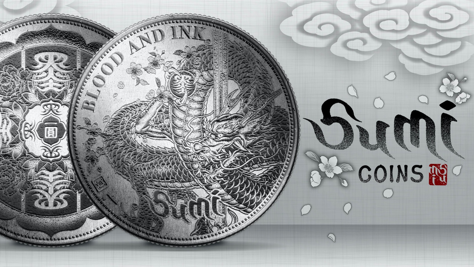 Pushing the limits of coin design. Traditional Japanese tattoo art engraved in Hobo Nickel style. EDC. Made in USA.