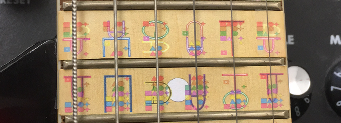 FretMapper Prototype (on paper, final product will be on transparent)
