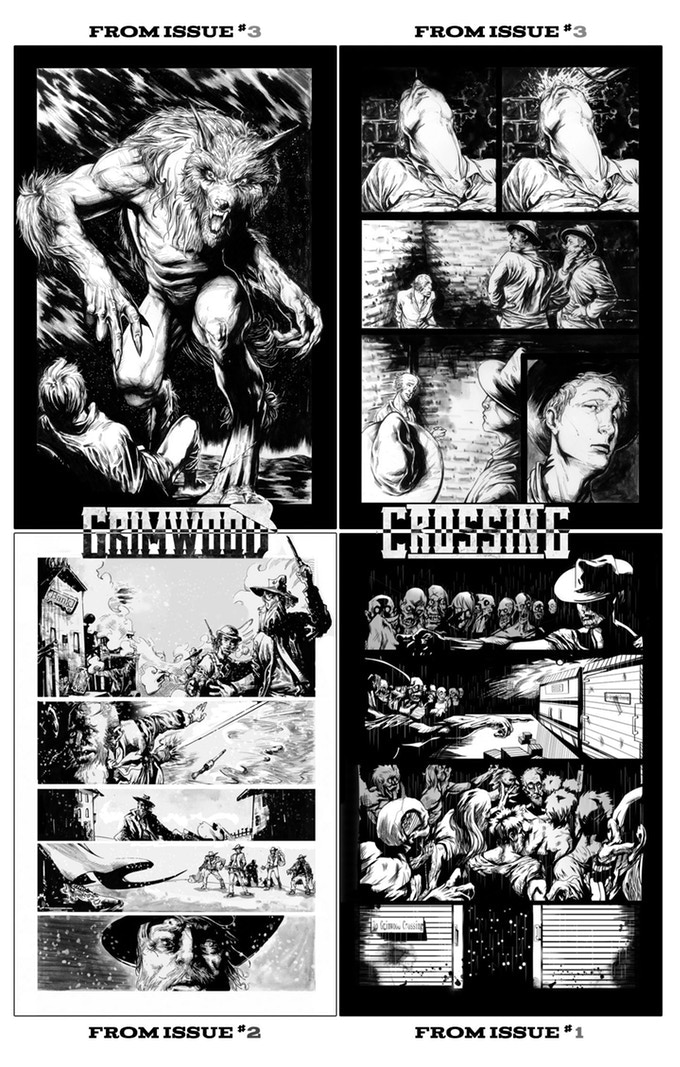 Page samples from Vol. 1