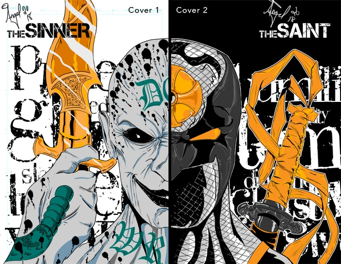 Connecting Variant - The Sinner/Saint by creator Angel Santiago