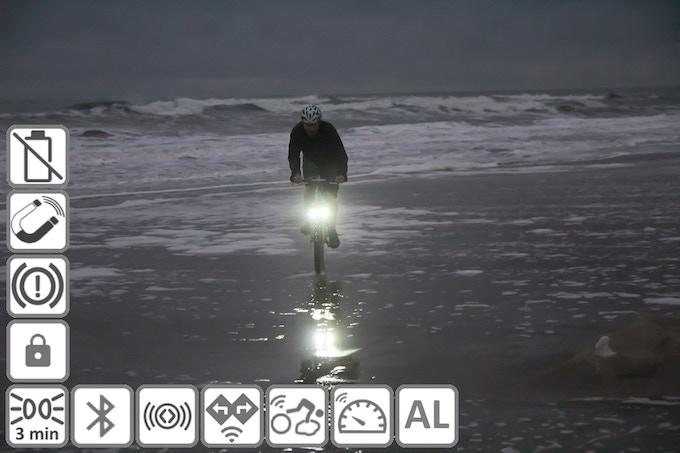 Magnic Microlights: Non-contact driven brake shoe bike light (Canceled)