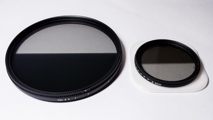 2nd gen. prototype (105mm) vs. 1st gen. prototype (58mm)