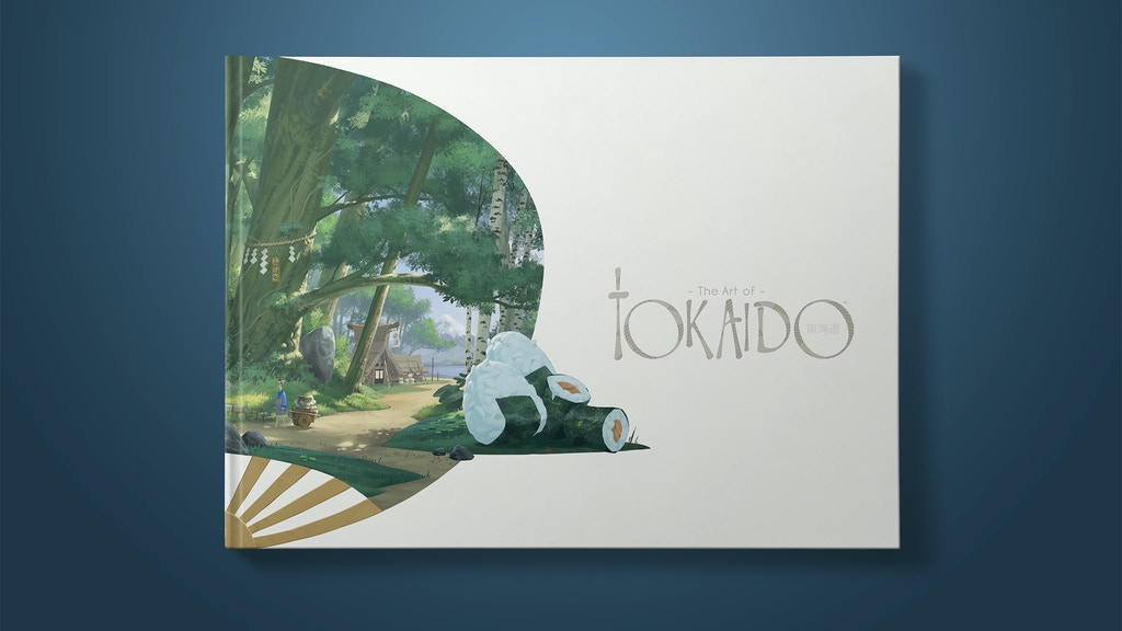 Admire, gathered in a single work for the very first time, all of the original graphical creations that make the universe of TOKAIDO.