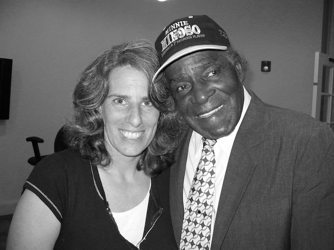 "Lauren Meyer, Director and Minnie Miñoso, ""Mr. White Sox"""
