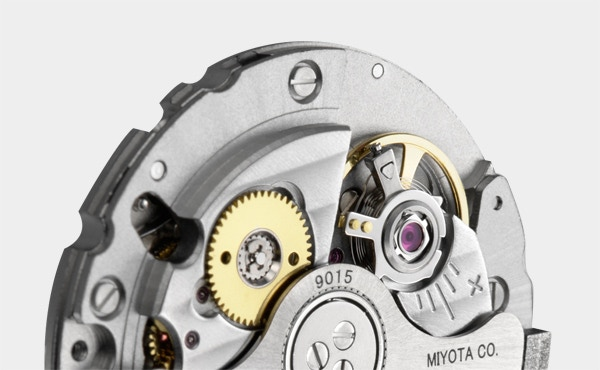 Miyota 9015 Hi-Beat Movement