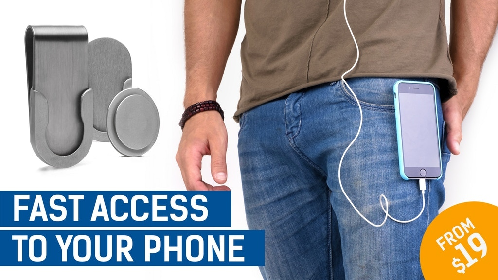 Placeon - Cellphone Belt Clip, Reinvented! (Relaunch) project video thumbnail