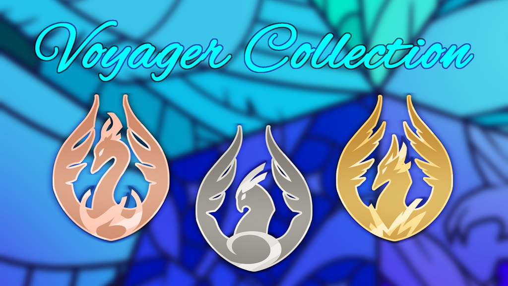 Voyager Collection - Die Struck Lapel Pins