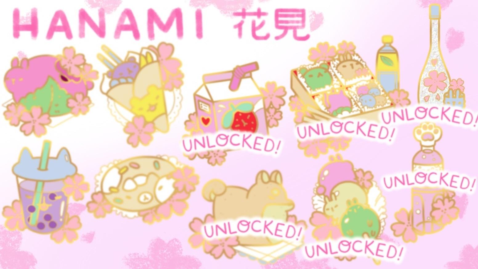 Sakura Hanami Enamel Pins by Georgina Jones — Kickstarter
