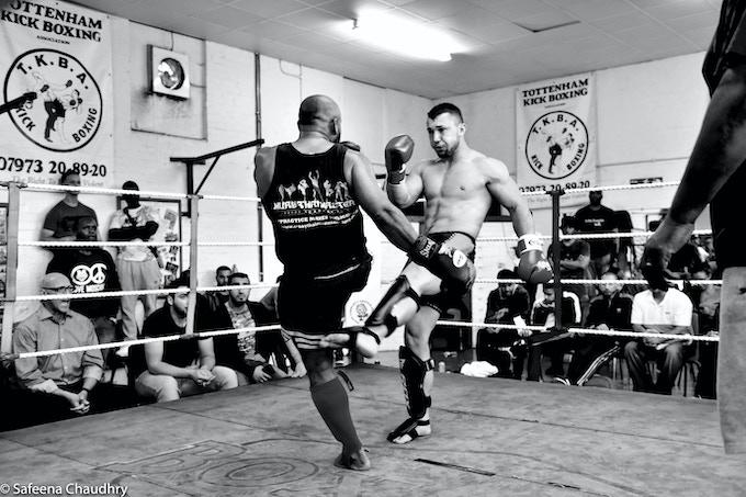 Rashid at an MTMA Interclub Fight in 2017