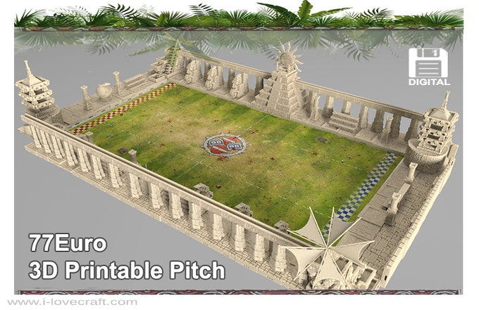 Example of scenery you can create with our printable models