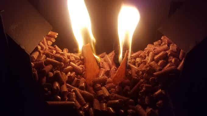 Energy Efficient Wood Pellet Biomass Fuel