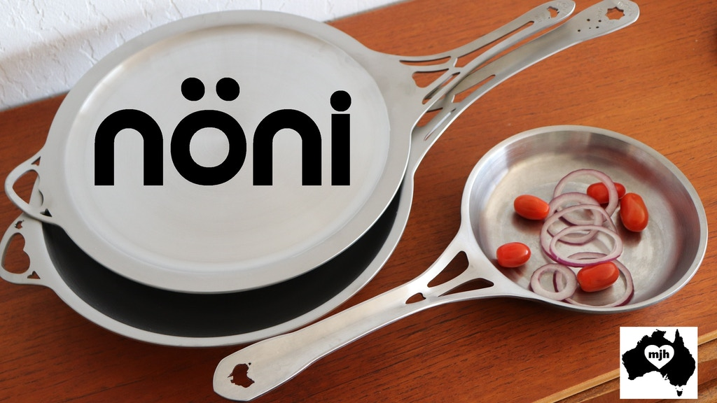 SOLIDteknics nöni world-first seamless 1pc stainless pans <3 project video thumbnail