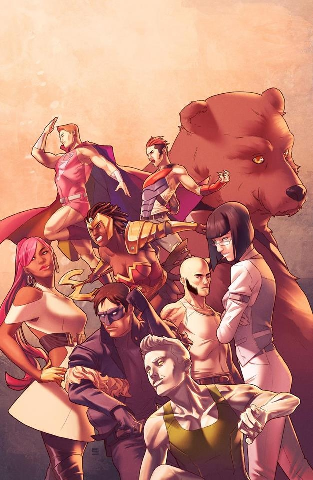 The Pride Adventures #3 cover by Jamal Campbell