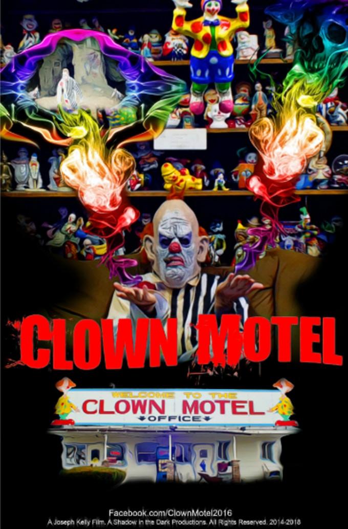 Clown Motel; Spirit's Arise Teaser movie poster