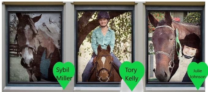 Sybil, Tory, Julie