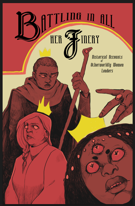 Cover art for Battling in All Her Finery