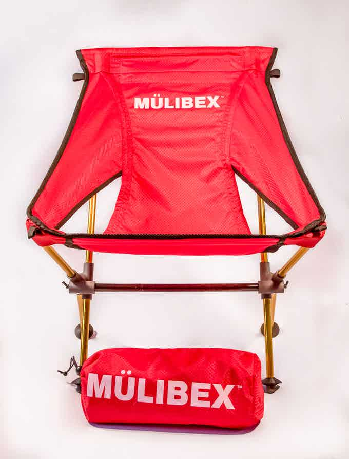 CAPRA™ Chair - Red Diamond Ripstop