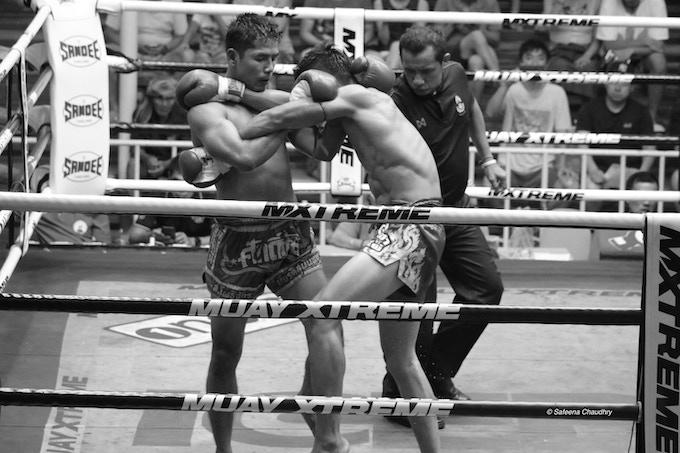 Fight at Patong Stadium, Thailand
