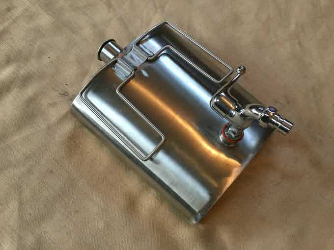 Hot water flask is a must for camping trips