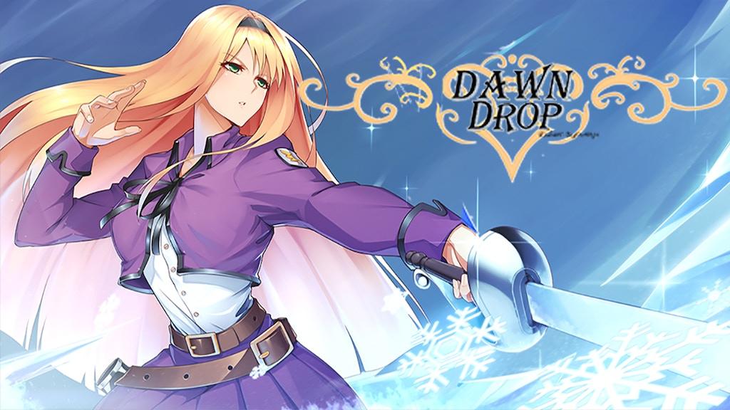 Dawn Drop Radiant Beginnings - Visual novel project video thumbnail