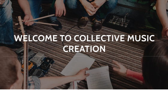 Co-Create Music, a Creative Collaboration for Music Writing