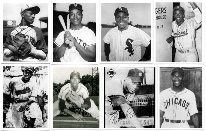 Players from the Negro Leagues