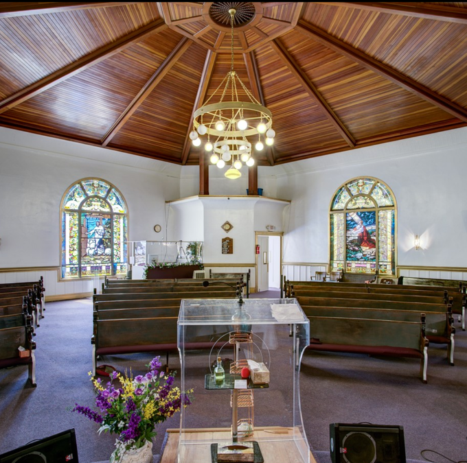 The sanctuary as it is now