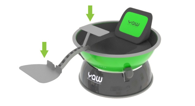 Yaw VR Compact Portable Motion Simulator by Industrial