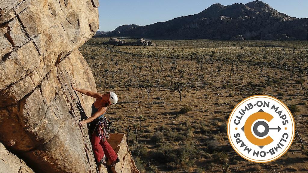 Joshua Tree, CA Climber's Map project video thumbnail