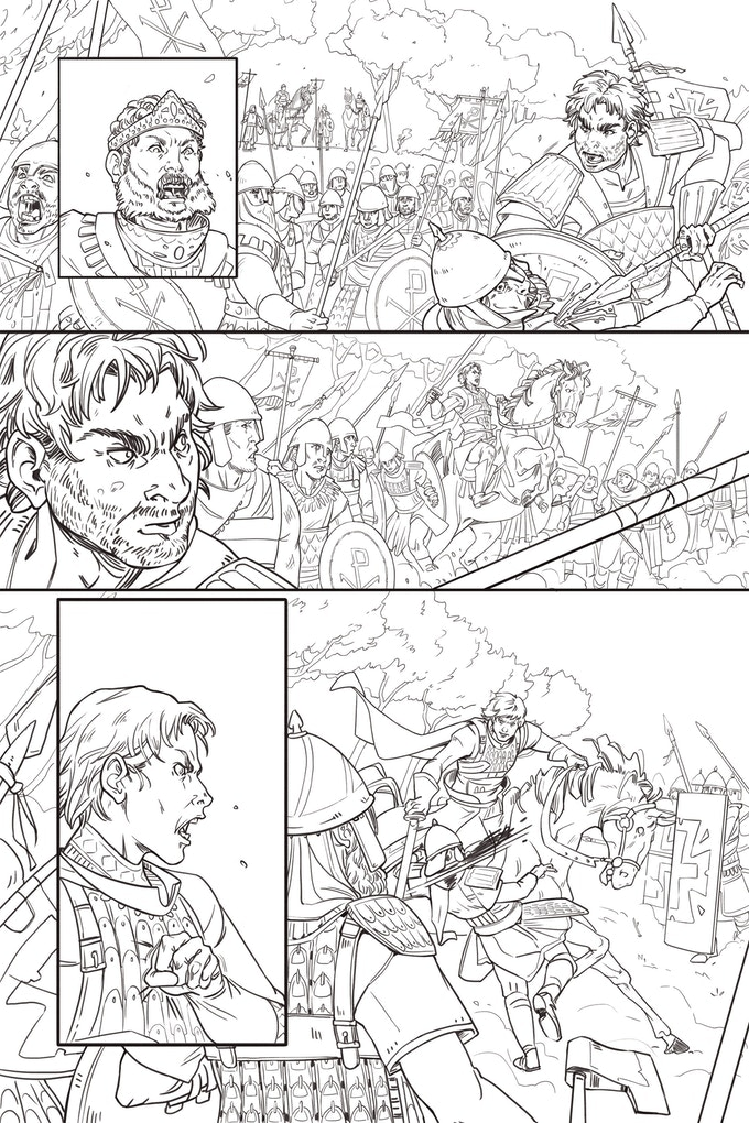 Pencils and Inks