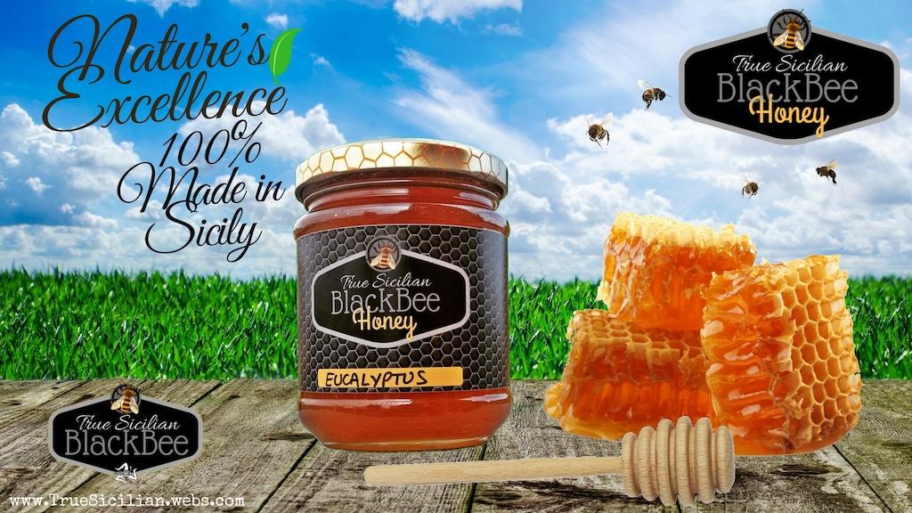 True Sicilian BlackBee Honey - Season 2018