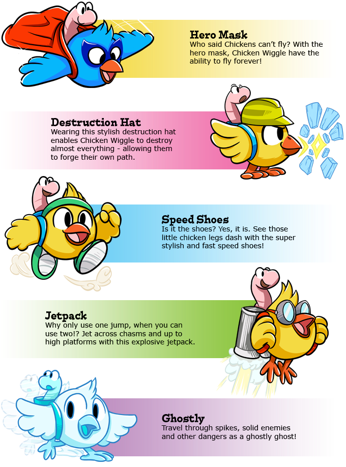 CHICKEN WIGGLE WORKSHOP for Nintendo Switch! by Jools